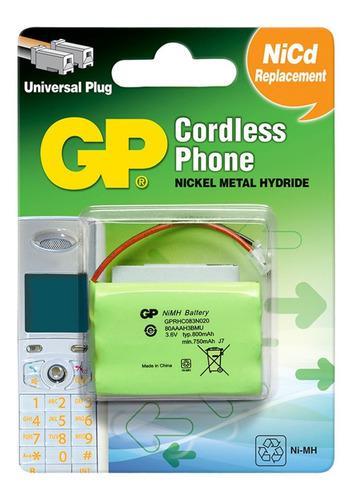 Batería Pila Teléfono Inalambrico Gp
