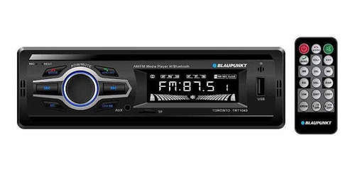 Blaupunkt Toronto Reproductor Multimedia Con Bluetooth