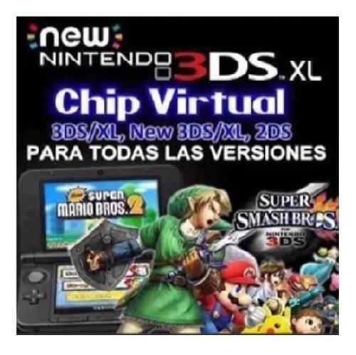 Chipeo De 3ds-2ds Old-new Todas Las Versiones (11.13.0-45)