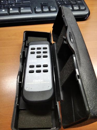 Control Remoto Clarion Para Reproductor De Ford Fiesta
