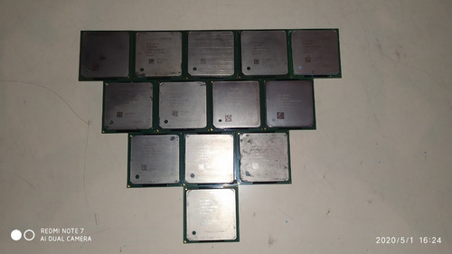 Cpu Intel Pentium 4 Socket Pga 1.7ghz / 256kb / 400mhz