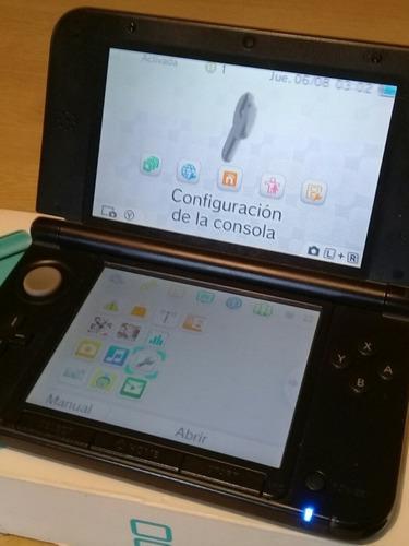 Nintendo 3ds Xl Lapiz+ Chipeo+micro Sd De 32gb+30 Juegos 3ds