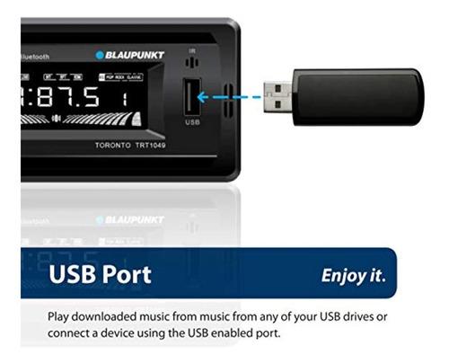 Radio Reproductor Blaupunkt Bluetooth Usb Pendrive App 35vrs