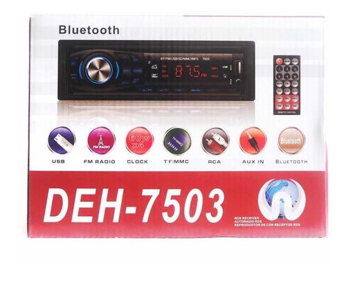 Radio Reproductor Bluetooth Usb Micro Sd Auxiliar Plug