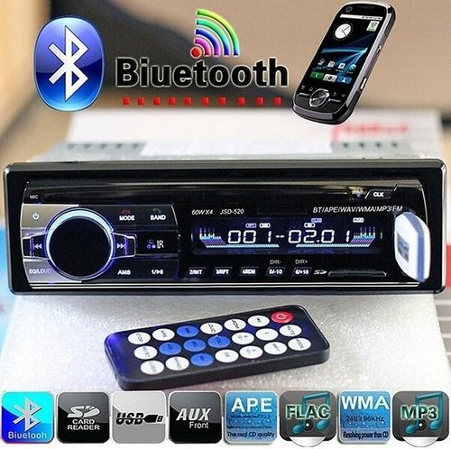 Reproductor Para Carro Usb Aux Sd Card Bluetooth