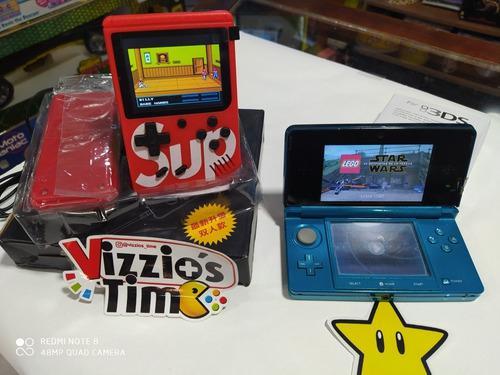 Sup 400 Juegos + Control Y Nintendo 3ds Con 2 Juegos.