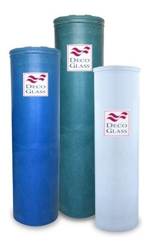 Combo  Lts Tanque Cilindrico Agua Decoglass