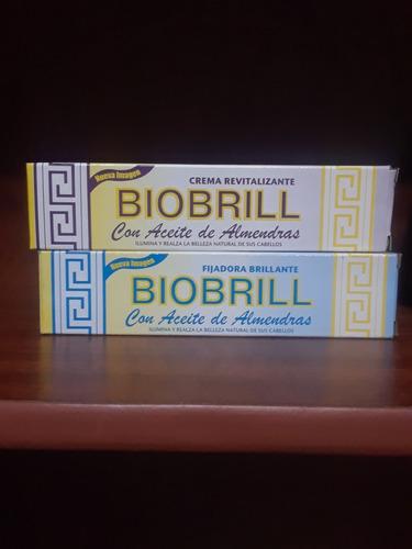 Crema Revitalizaste Biobrill Con Aceite De Almendra