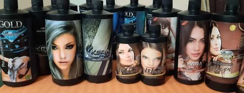 Kit De Keratina Y Shampoo 1 Litro