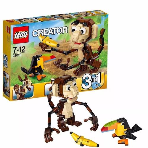 Lego Creator : Animales De La Jungla 272 Piezas
