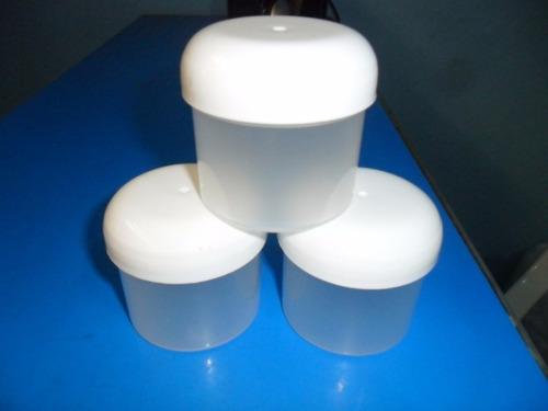 Tarros/envases Plasticos/transparente/tapa Tipo Hongo/ 100gr