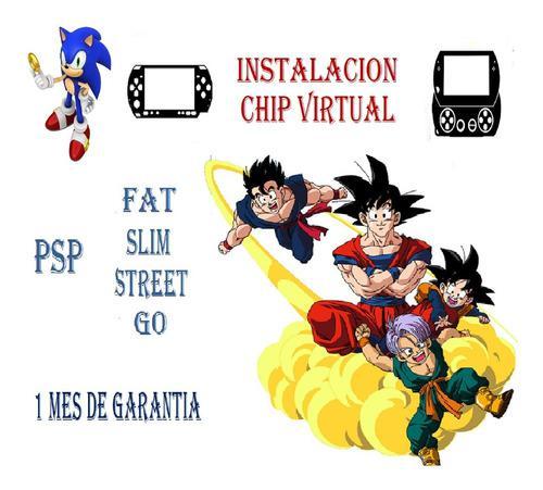 Chip Virtual Para Psp / Psp Go + Regalo
