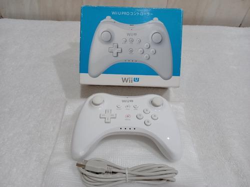 Control Pro Nintendo Wii U Sin Uso Como Nuevo Impecable