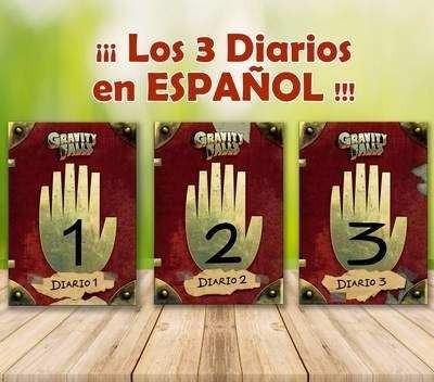 Graviti Falls 3 Diarios + Temporadas Digitales X Correo