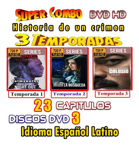 Historia De Un Crimen Combo De 3 Temp. En Hd 720p Latino