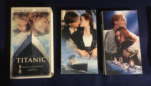 Película Titanic Original Vhs Colección Vintage Ref. 18