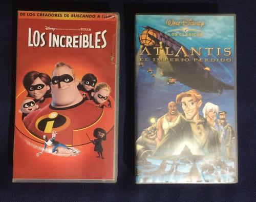 Películas Variadas Disney Originales Vhs Colección Ref. 5