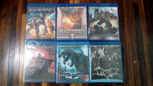 Peliculas En Blu Ray Varias (copias)