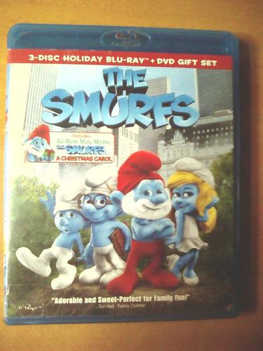 Set De 3 Pelicula Original En Blu Ray Los Pitufos. 10