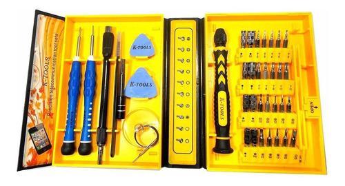 Set De Herramientas K-tools Para Reparar Teléfonos 38 En 1