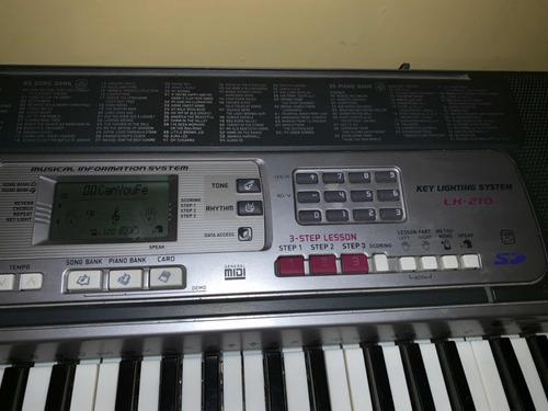 Teclado Casio Lk 210