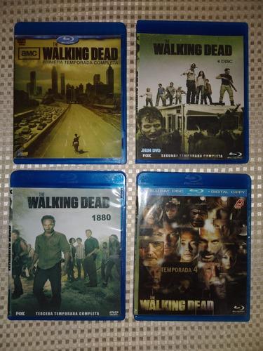 The Walking Dead Temporada 1, 2, 3 Y 4 (12v)