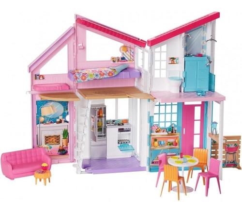 Barbie Casa Malibu + 25 Accesorios Mattel Original