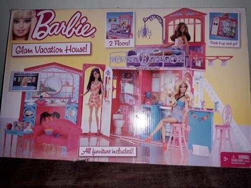 Casa De Muñecas Barbie Glam De Vacaciones. Barbie-mattel