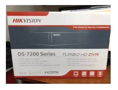 Dvr 16 Canales Hikvision Modelo Turbo Hd/ Ds  Series