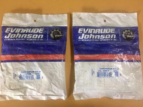Kit De Carburador Johnson Evinrude Motores Fuera De Borda