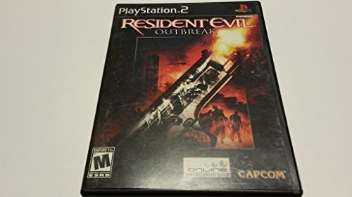 Resident Evil Outbreak Para Playstation 2 Original