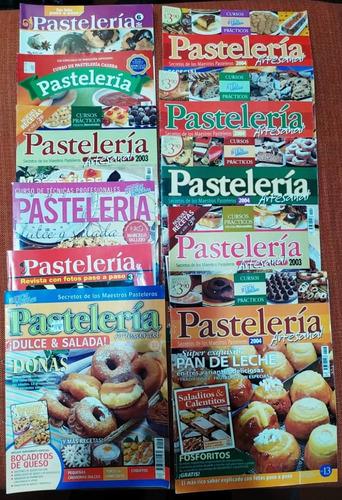 Colección De 11 Revistas De Pastelería. Panadería