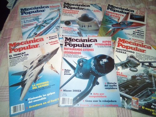 Mecanica Popular Aviones De Combate Y Turismo