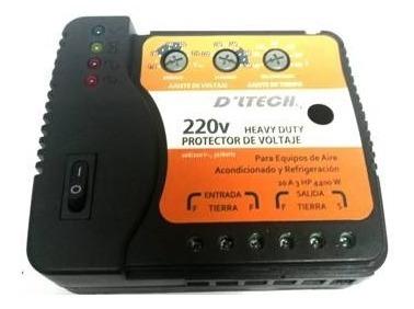 Protector De Voltaje 220v Cable A Cable Graduable Dltech
