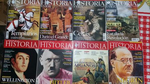 Revistas Historia Y Vida Aventura De La Historia(por Unidad