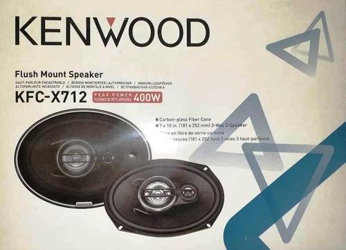Triaxial Kenwood Kfc X712 Cornetas 7 X  Watt Nueva