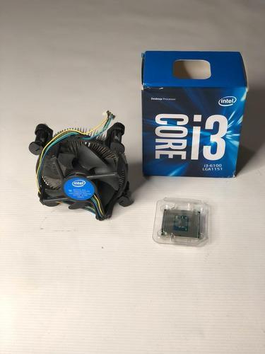 Procesador Intel I3 6100 6ta Generación