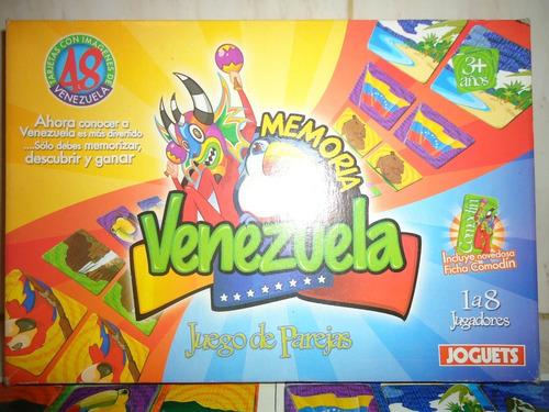 Juego De Memoria De Venezuela Joguets