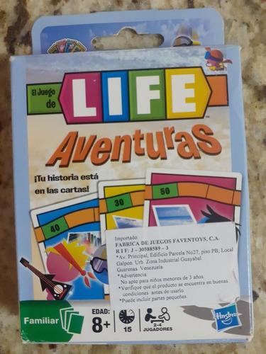 Juego De Mesa / Cartas Life Aventuras De Hasbro
