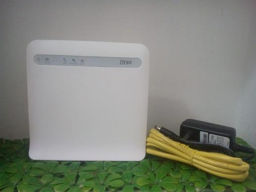 Modem Router Wifi Zte 4g Digitel Puerto Lan( Equipos W