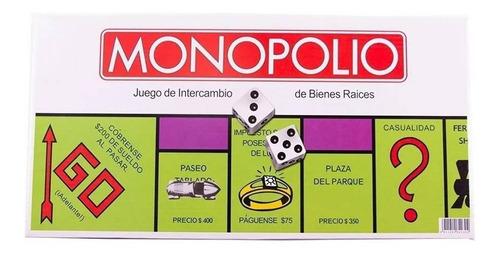 Monopolio Juego De Mesa Didactico