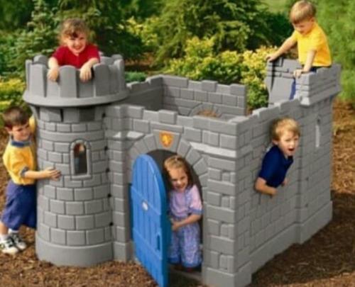 Parque Infantil Little Tikes Castillo Con Tobogán
