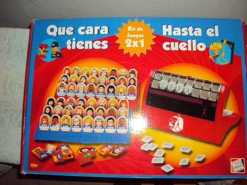 Set De 2 Juegos Adivina Quien Y Hasta El Cuello