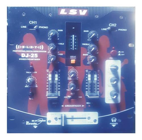 Mezclador De Música Semi Profesional Lsv