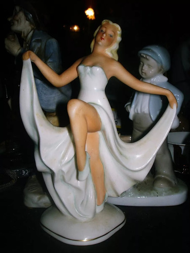 Figura De Porcelana Marca Schaubach Kunst Numerada Realizada