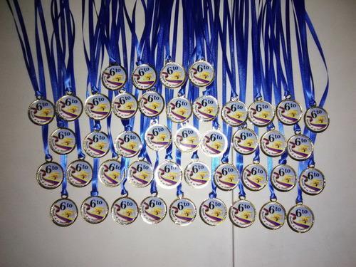 Medallas De 6to Grado Y Preescolar