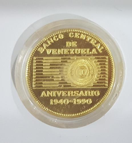Moneda Conmemorativa De Oro Ley