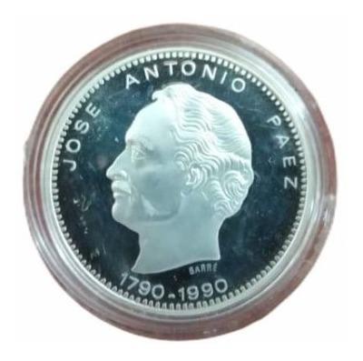 Moneda Conmemorativa De Plata (josé A Paez, Ley 900)