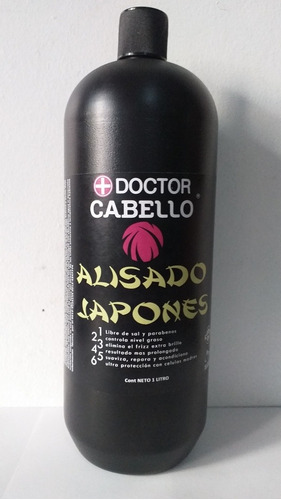Alisado Japonés Dr Cabellos 1litro Original Solo Paso 2