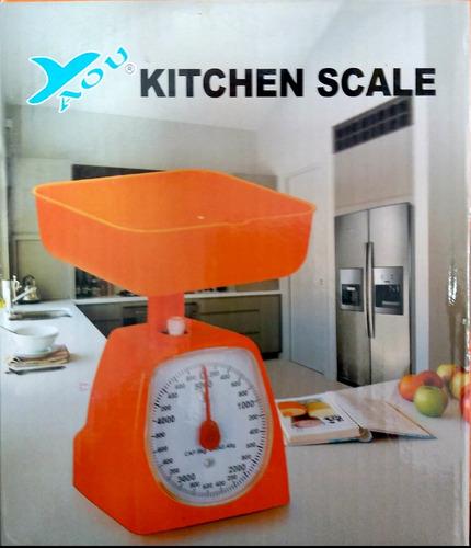 Balanza Peso De Cocina 5kg Kilos Bascula